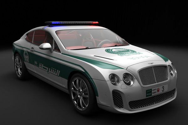 Dubai Police Department Patrol Fleet – Video | eMercedesBenz