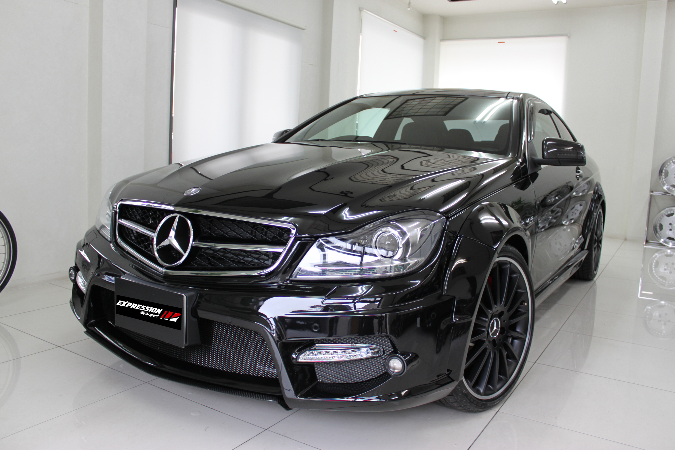Expression Motorsport Wide Body Kit for Mercedes C-Class Coupe