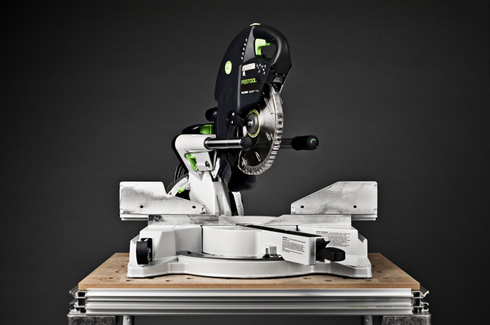 Festool Kapex Miter Saw blade up