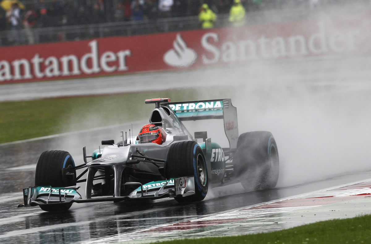 Mercedes AMG Petronas at 2012 British Grand Prix
