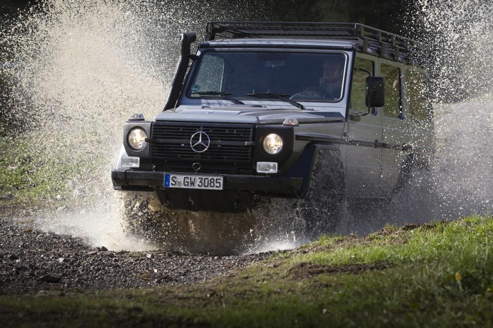 Mercedes G-Class emergency service vehilcle