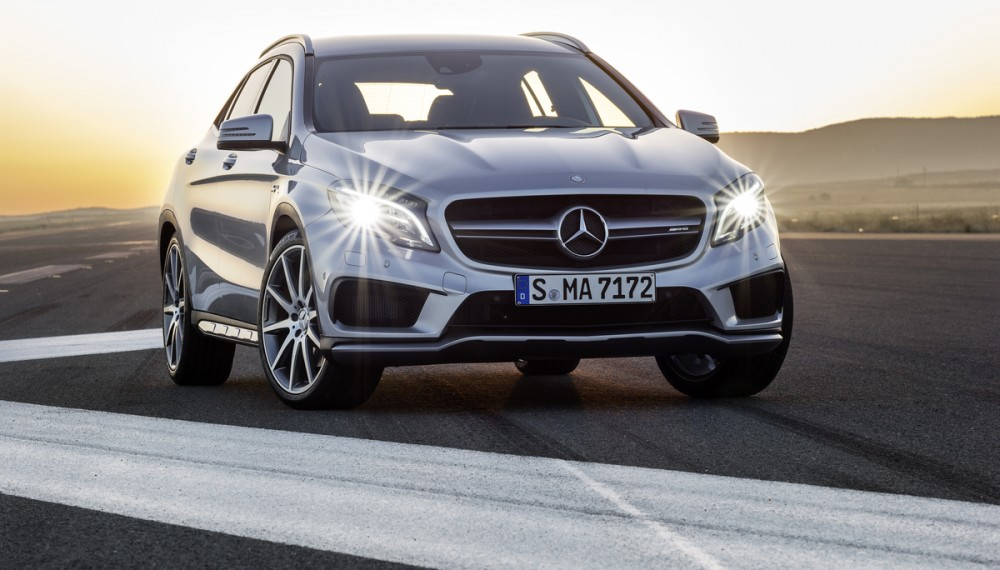 The New Mercedes-Benz GLA45 AMG