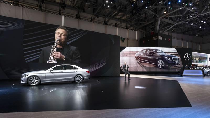 European Premiere of the New Mercedes C-Class