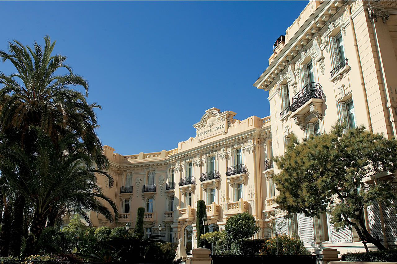 Hotel Hermitage Monte Carlo Exterior Day