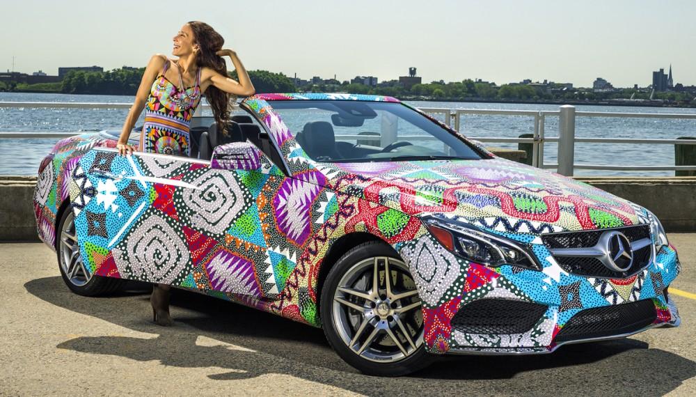 Swimsuit Designer Mara Hoffman Receives Mercedes-Benz Presents Title