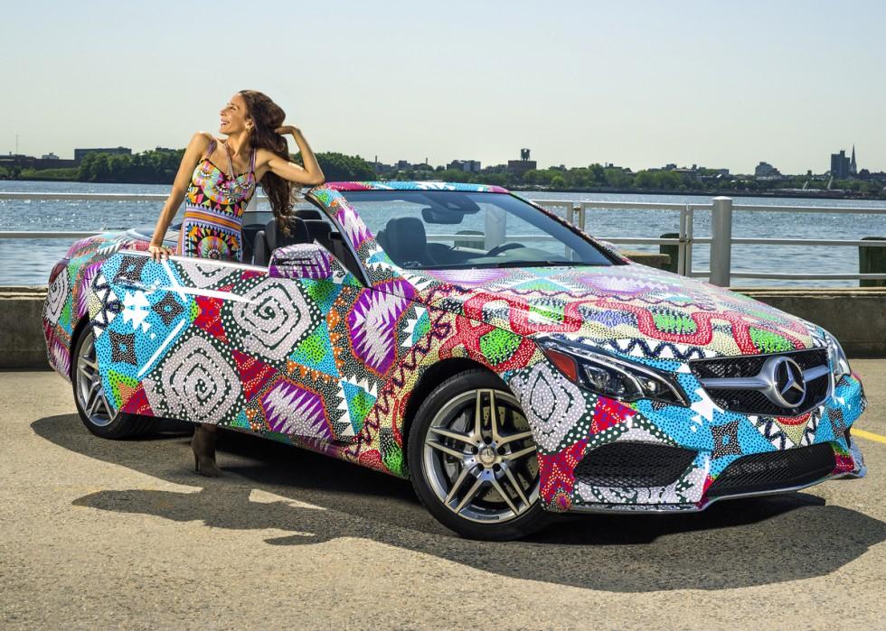 """Mara Hoffman Receives """"Mercedes-Benz Presents"""" Title"""