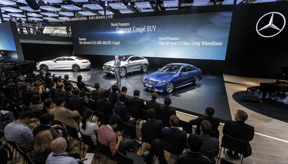 Long-Wheelbase Mercedes C-Class Ready for China