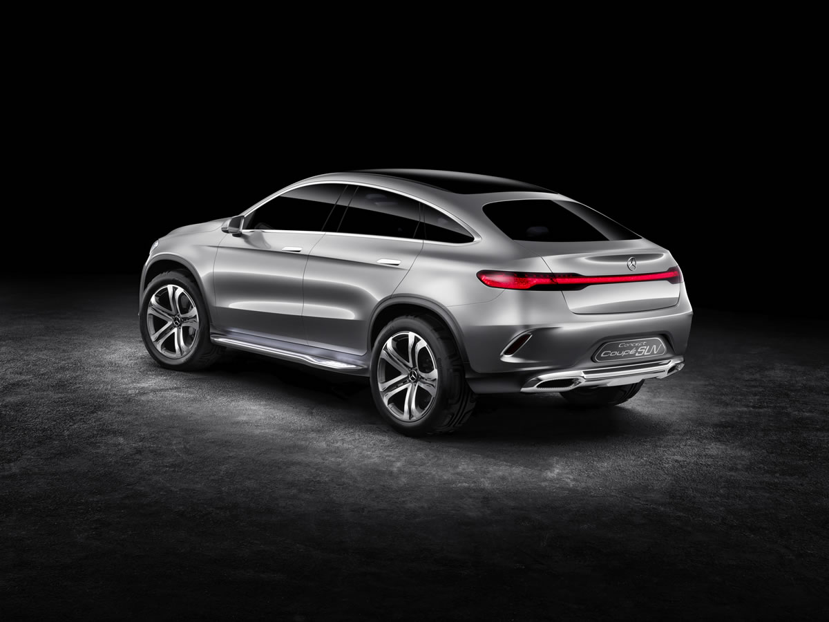 Official Reveal Mercedes Benz Concept Coupe Suv Revealed Emercedesbenz