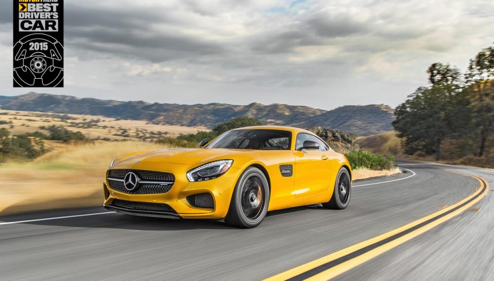 Mercedes-AMG GT S named MOTOR TREND Best Driver's Car.