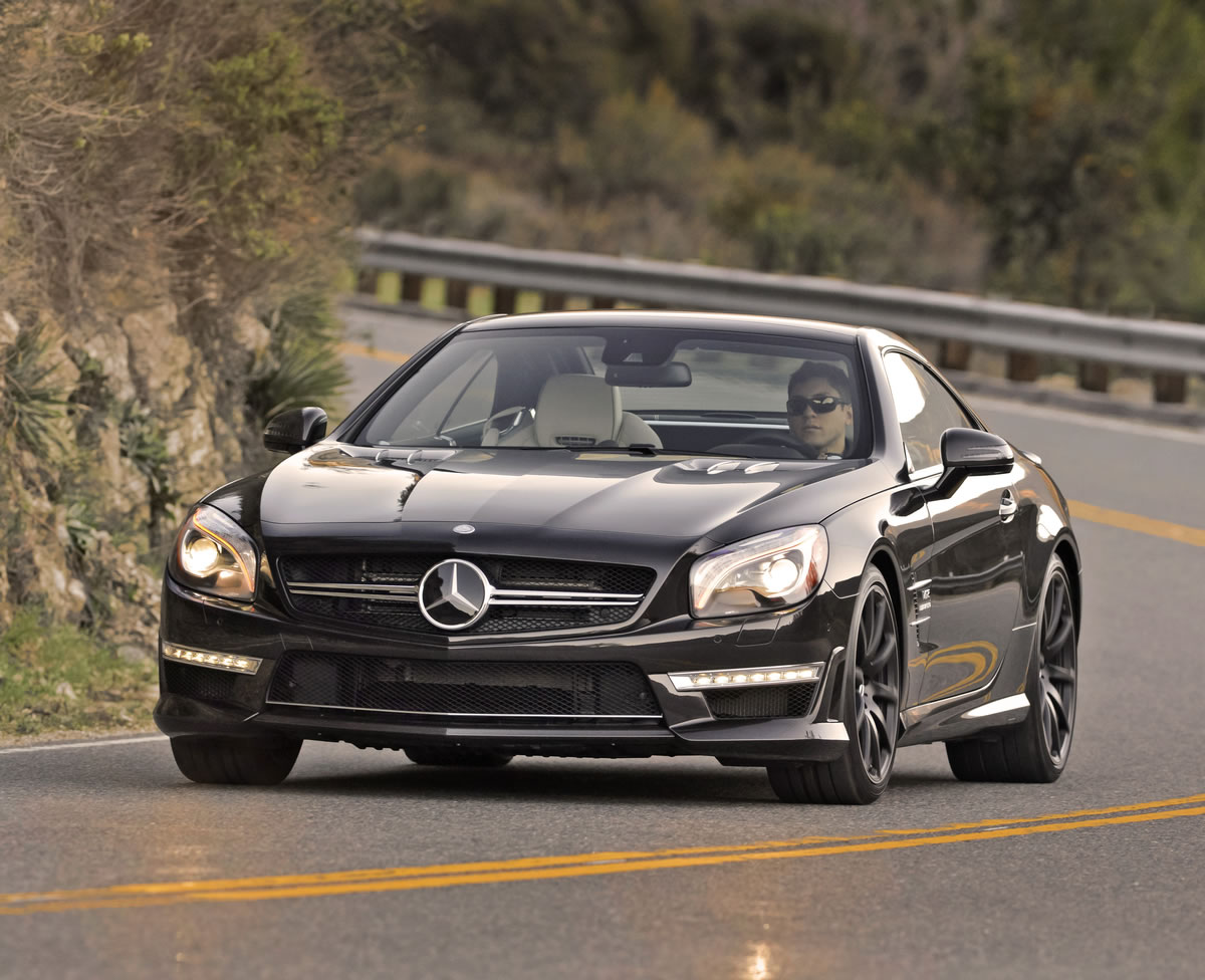 2013 Mercedes SL65 AMG Roadster