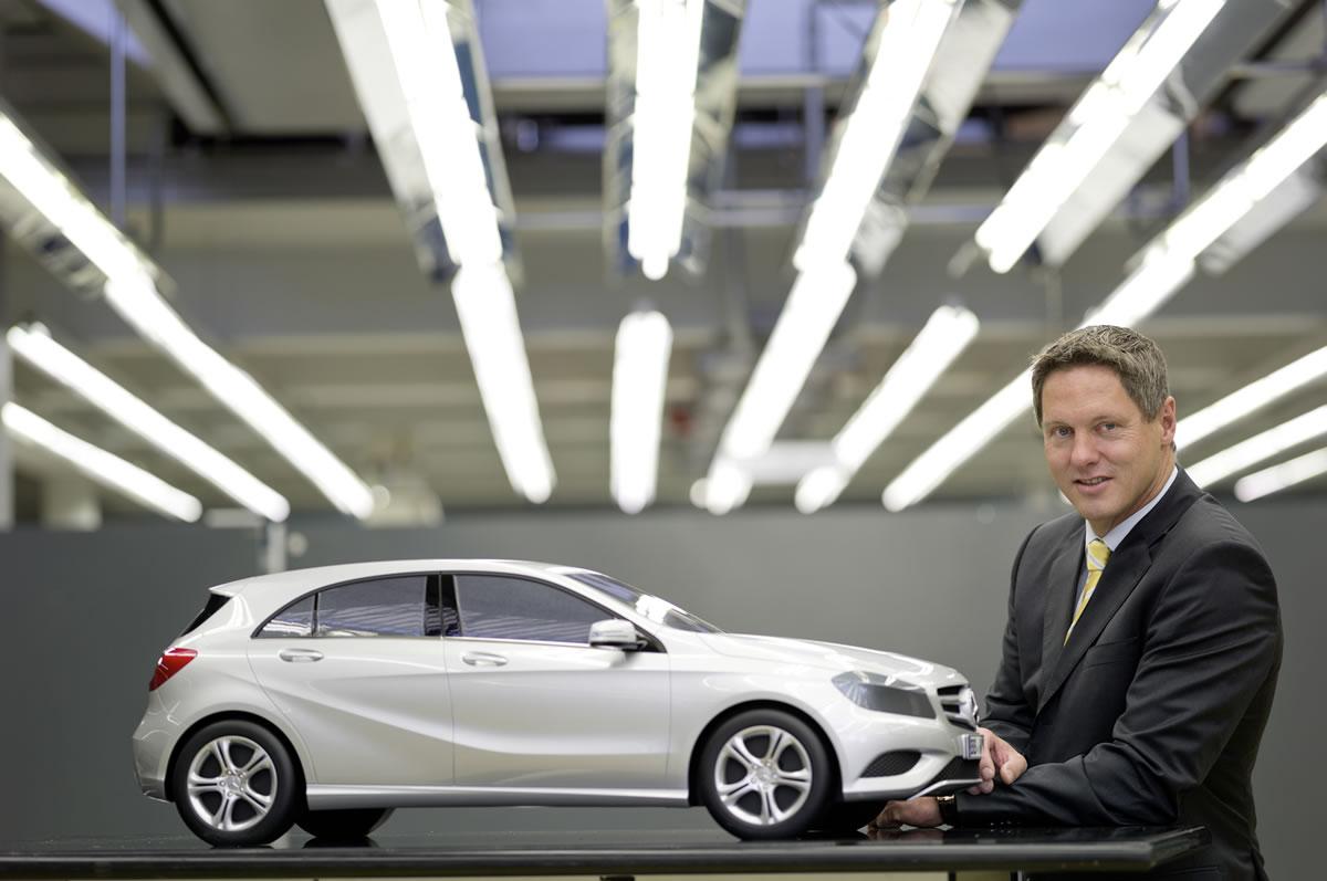 Mercedes-Benz A-Class, Gorden Wagener, Head of Design , Mercedes-Benz Cars