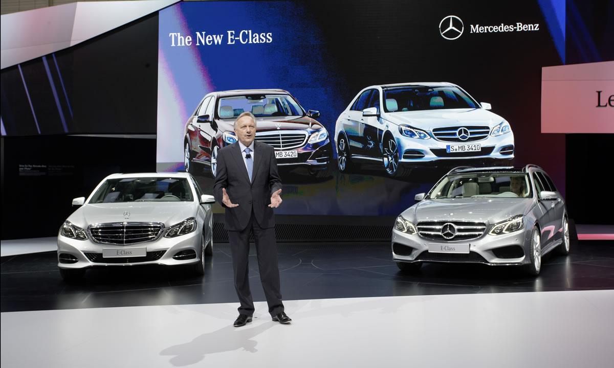 2013 Mercedes-Benz E-Class geneva motor show
