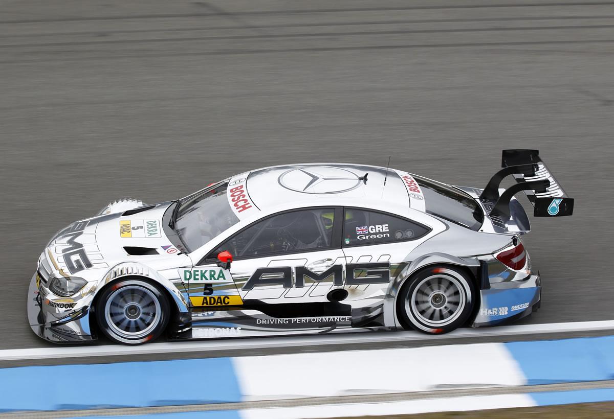Jamie Green, Mercedes AMG C-Coupé