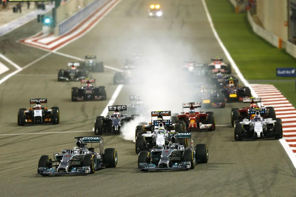 Mercedes AMG Petronas 2014 Bahrain Grand Prix