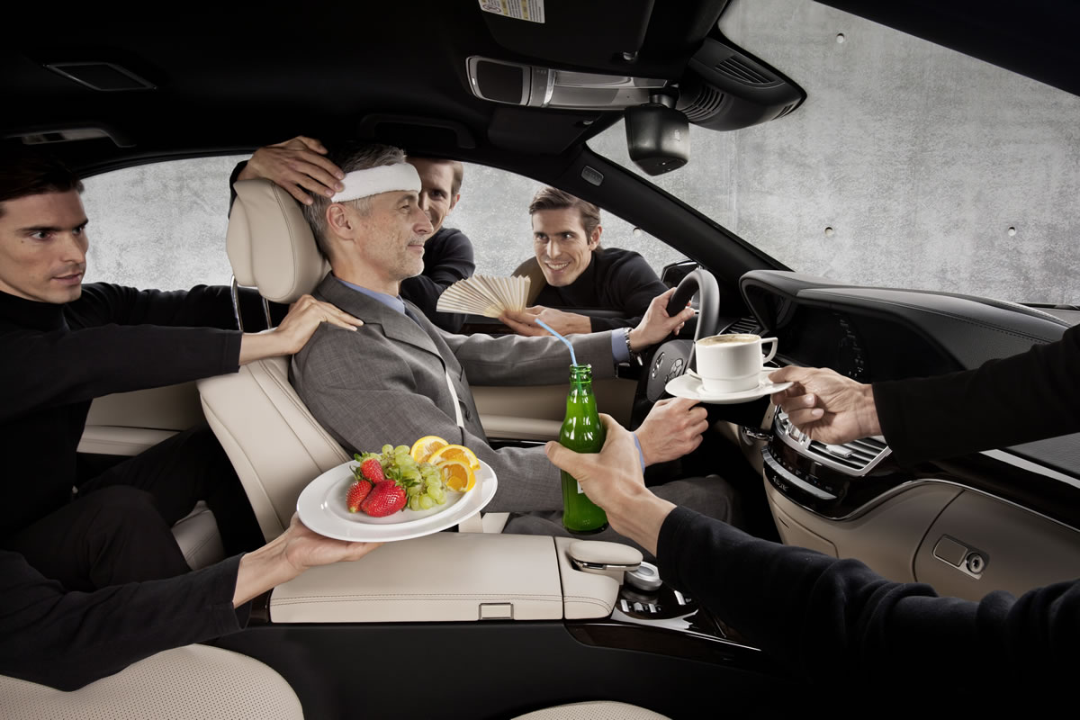 Mercedes-Benz Cars Research Driver Comfort with TopFitTruck