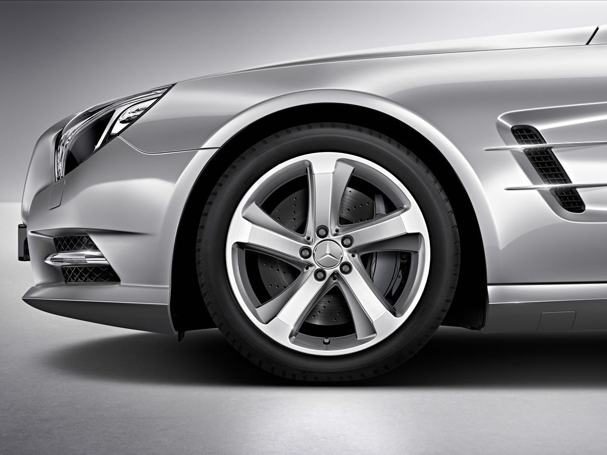 Mercedes-Benz SL-Class incenio 5-spoke wheel