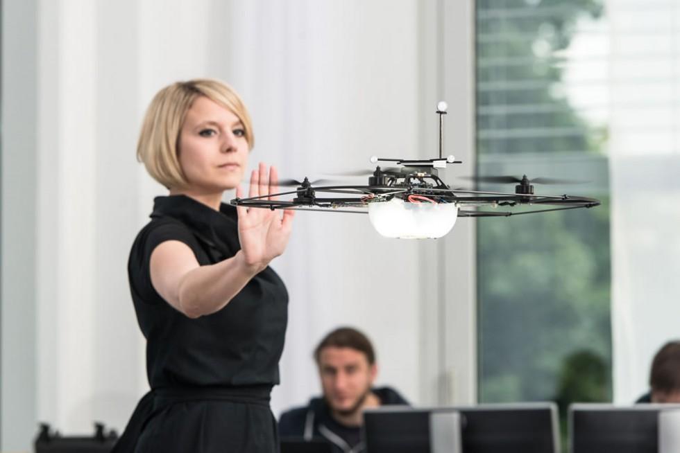 Experimental research of Human-Machine, Interaction at the Mercedes-Benz Future Talk Robotics
