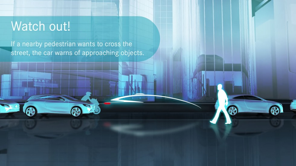 Gesture communication between humans and autonomous driving cars