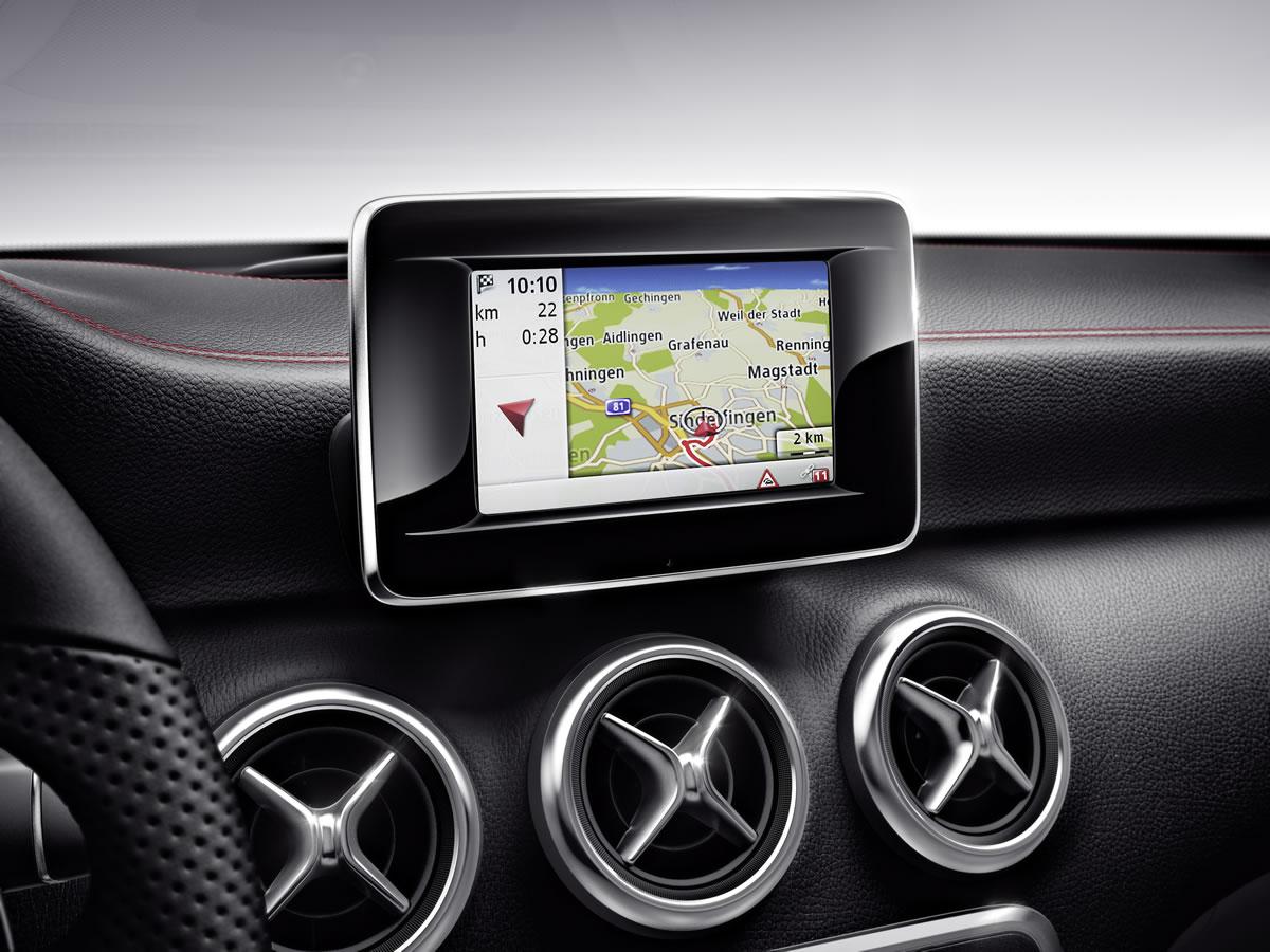 Mercedes-Benz A-Klasse, interior