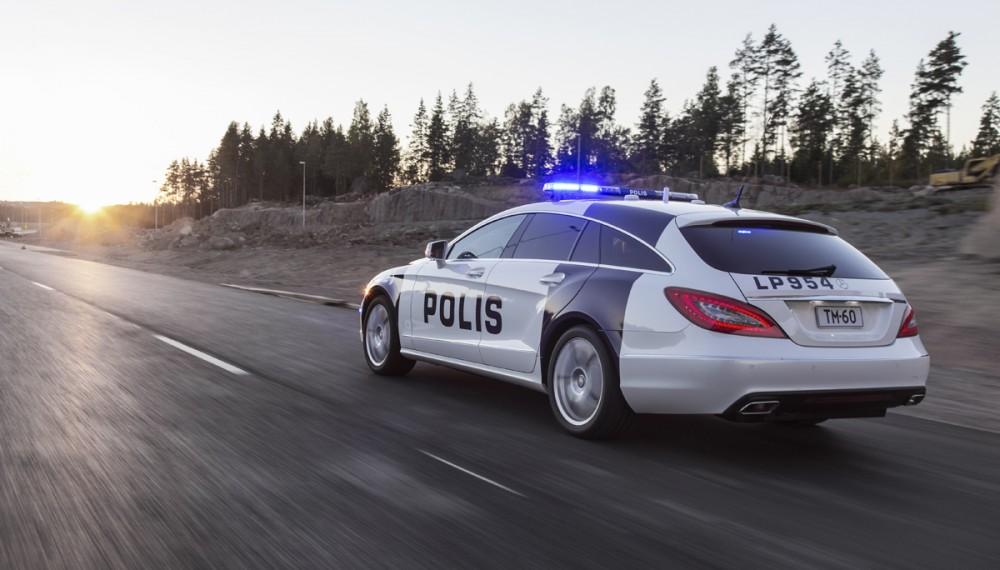 Mercedes CLS Shooting Brake Police Car