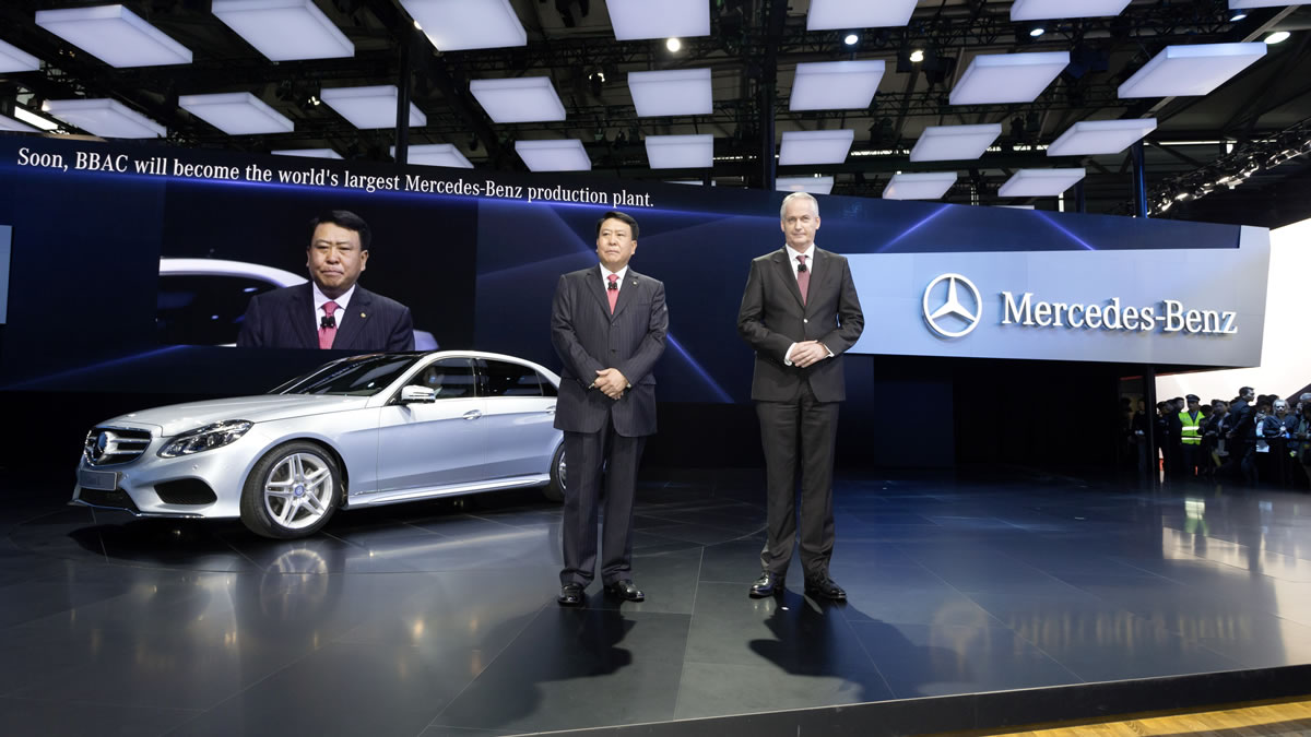 2014 Mercedes-Benz E-Class Long China