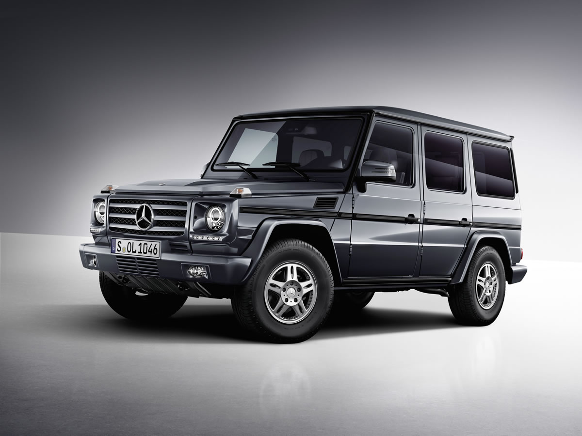 2013 Mercedes-Benz G-Class and G63 AMG studio photo