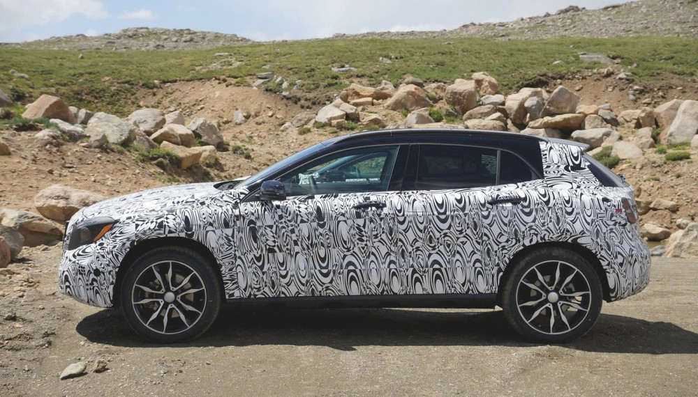 Mercedes-Benz GLA Spy Photos Show Interior
