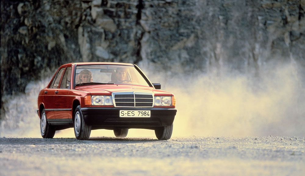 How the Mercedes-Benz W201 Paved the Way for Compact Cars
