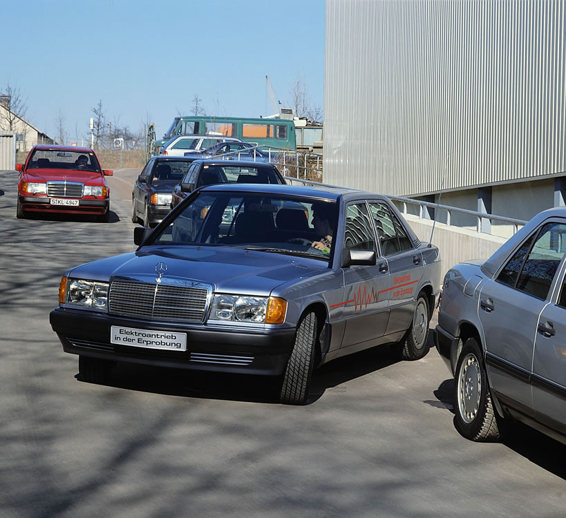 How The Mercedes Benz W201 Paved The Way For Compact Cars