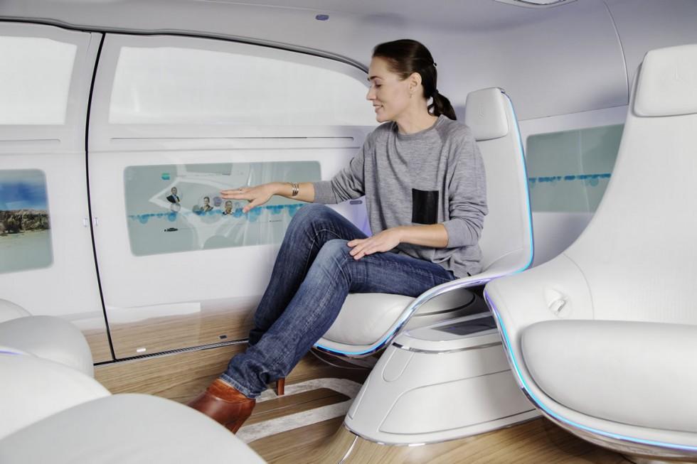 Mercedes-Benz F 015 Luxury in Motion Interior