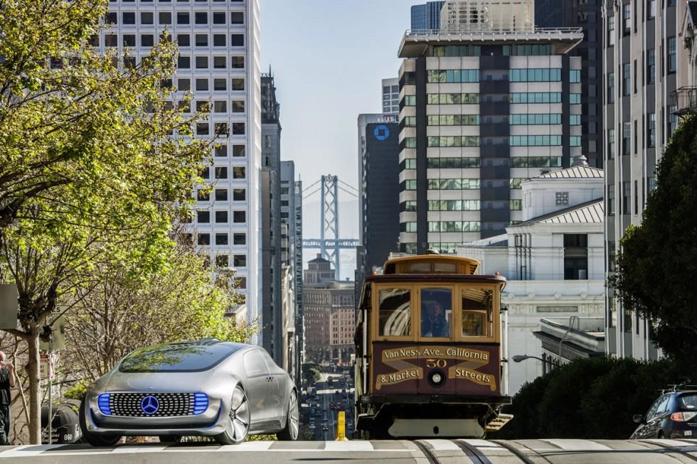 Mercedes-Benz F 015 Luxury in Motion in San Francisco