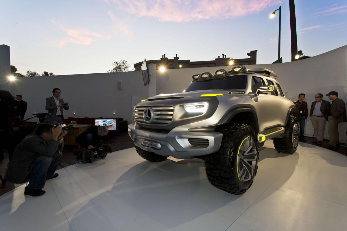 Mercedes-Benz Premieres Three Vehicles at LA Auto Show