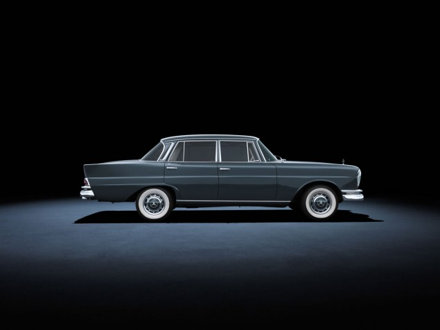 Mercedes-Benz 220 SE (W 111, 1959 to 1965). The car in the photo dates from 1964