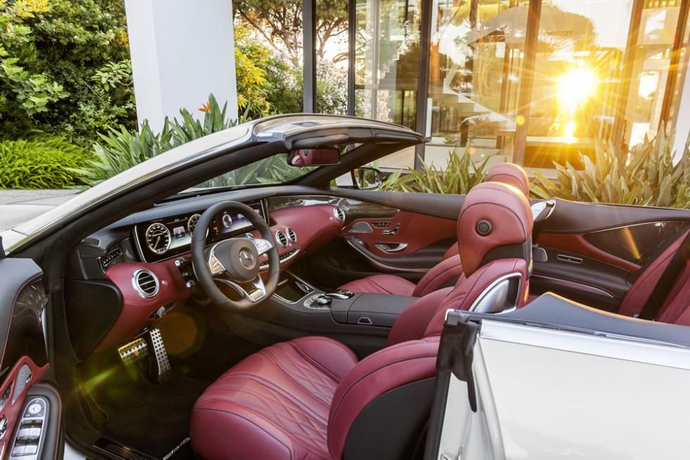 Mercedes-AMG S63 Convertible Interior