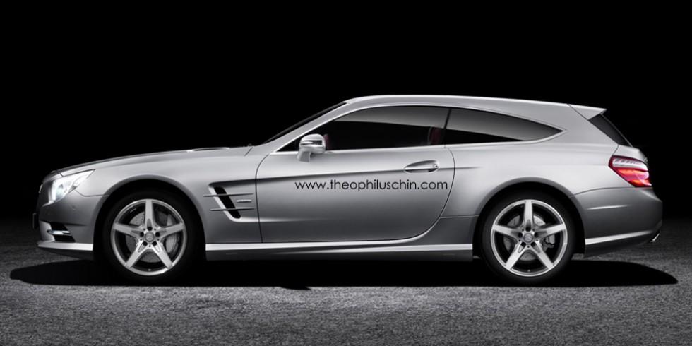 Mercedes SL Shooting Brake