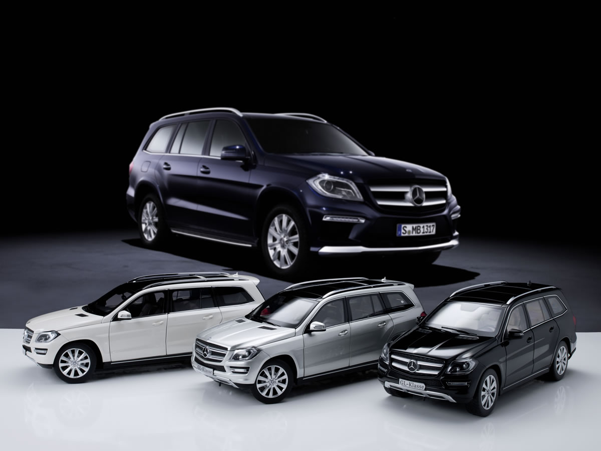 Mercedes-Benz Scale Models - GL Added to Collection