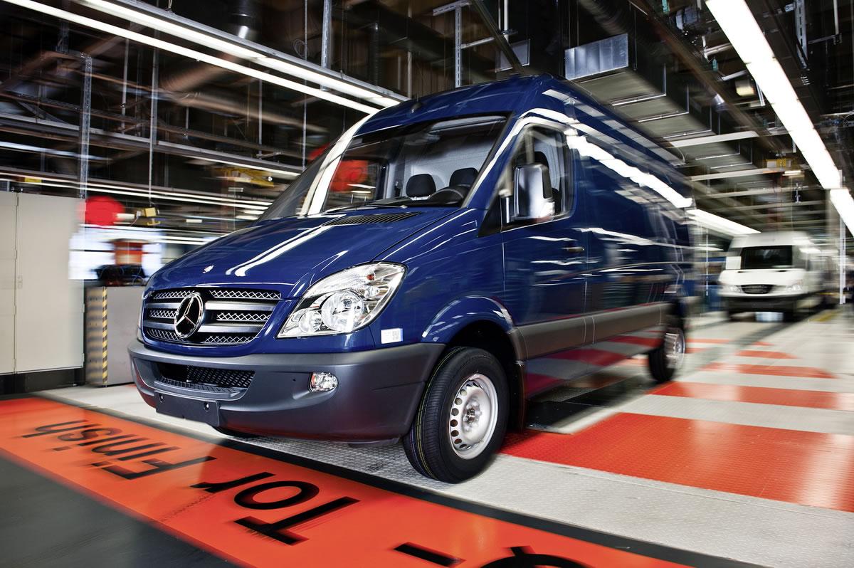 Mercedes-Benz Sprinter Finds Success on U.S. Roads