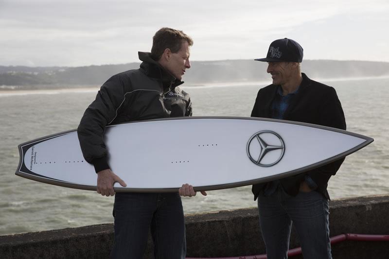 surfing legend Garrett McNamara Mercedes-Benz