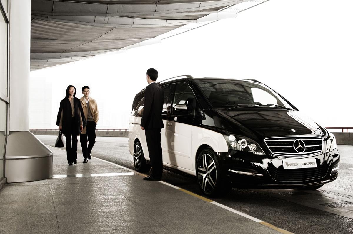 Mercedes-Benz Viano Vision Diamond exterior