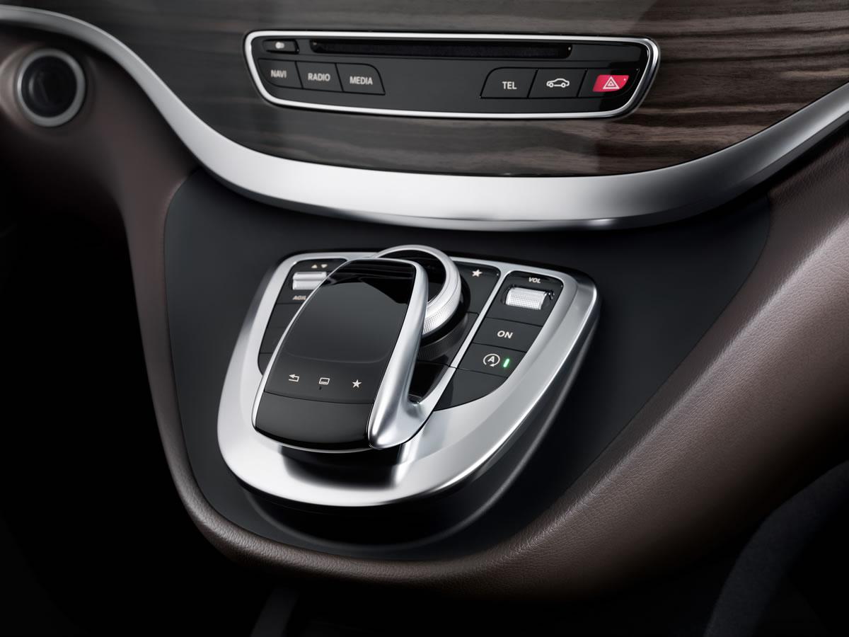 Mercedes Reveals The New V Class Interior Emercedesbenz