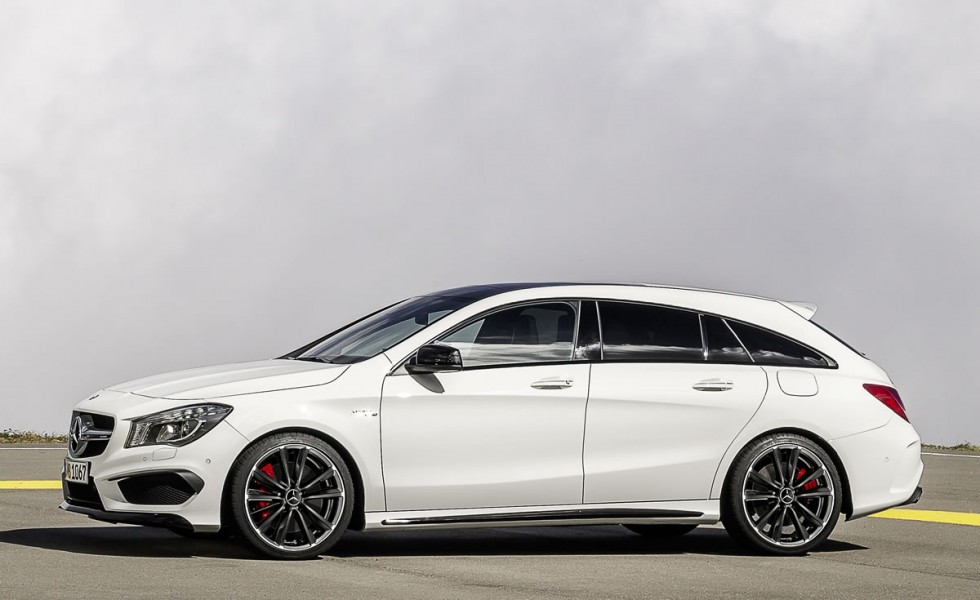 Mercedes-Benz light Alloy Wheels: 5-twin-spoke wheel, 45.7 cm (18-inch) for the CLA-Class.