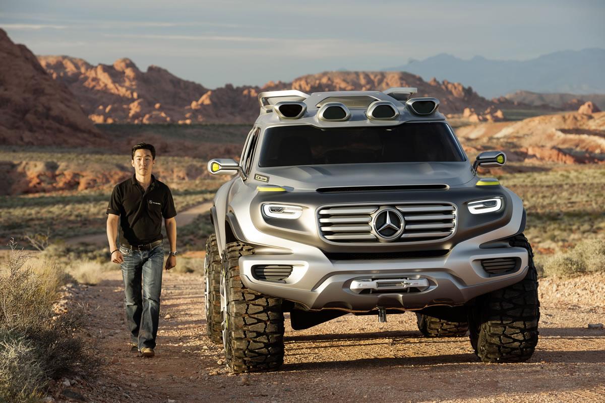 2025 Mercedes-Benz Ener-G-Force SUV