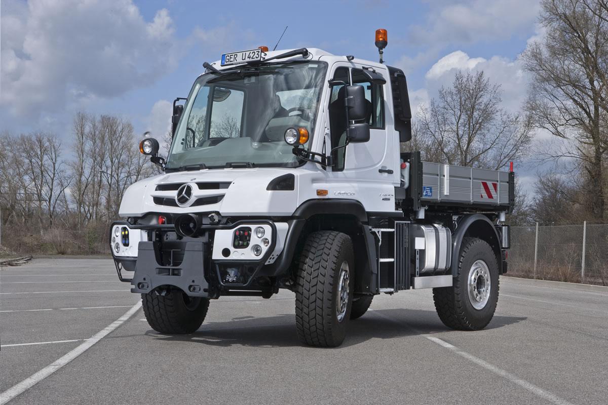 Unimog U 216 to Unimog U 530 Implement Carriers