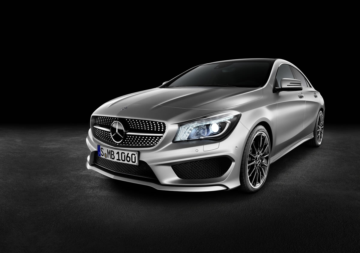 Mercedes-Benz CLA in a League of Its Own