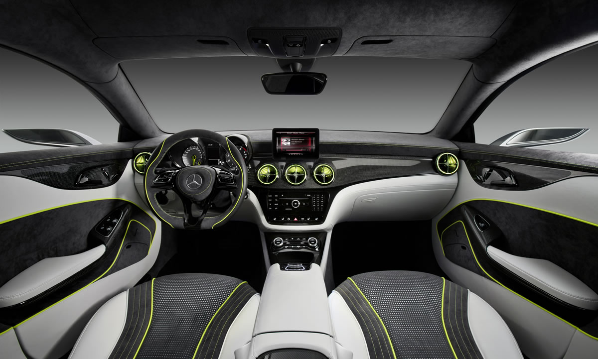 Mercedes-Benz Concept Style Coupe interior