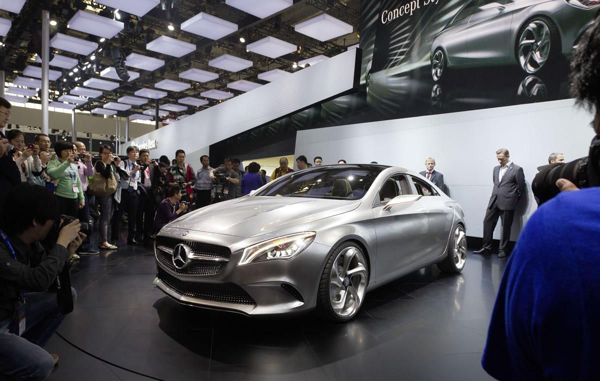 Mercedes-Benz Concept Style Coupé Official World Premiere