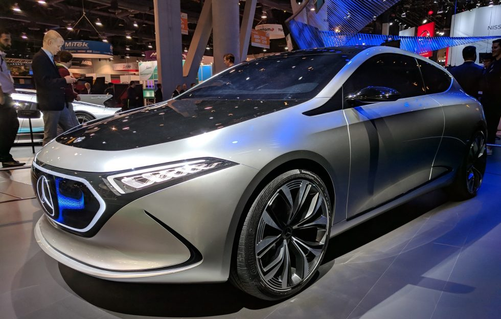 Mercedes-Benz EQ S Electric Sedan