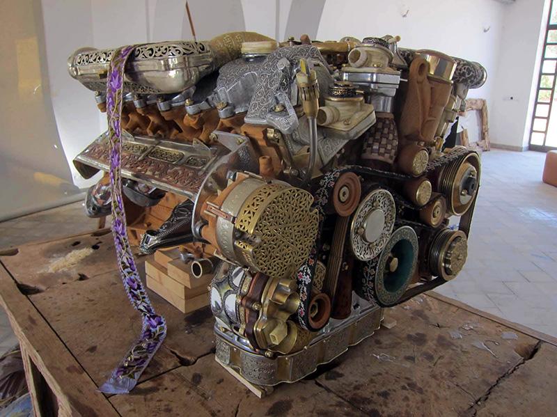 V12 Laraki Engine