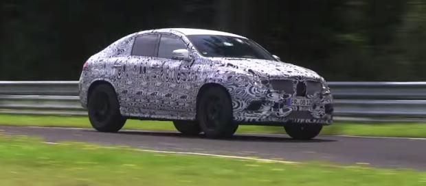 Mercedes-Benz MLC Spied on the Nürburgring - Video