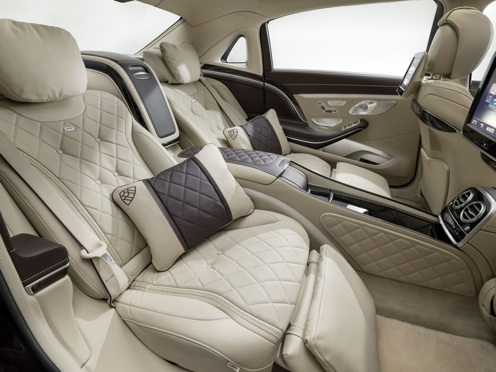 2016 Mercedes-Maybach S-Class inteiror